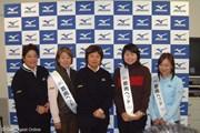 2007年 「ミズノJPX E500」発売イベント 岡本綾子