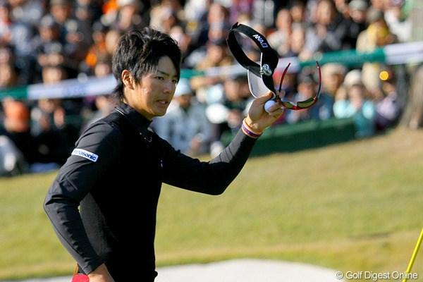 遼は4位タイに浮上、賞金ランクトップに返り咲き!