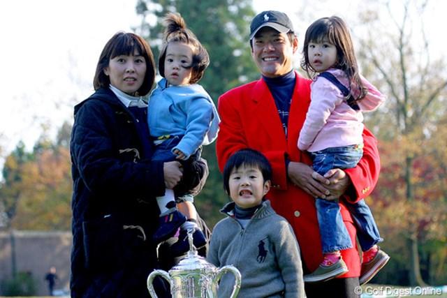4年ぶりとなる勝利の裏には、家族の愛情という大きな支えがあった