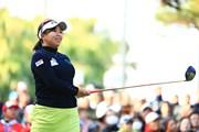 2017年 LPGAツアー選手権リコーカップ 初日 吉田弓美子