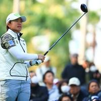 ゴルフ5レディスに優勝して出場 2017年 LPGAツアー選手権リコーカップ 初日 O.サタヤ