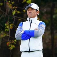 白のウェア似合うよ。 2017年 カシオワールドオープンゴルフトーナメント 初日 近藤共弘