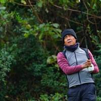 そりゃあ南国出身だもの。寒いの苦手だよね。 2017年 カシオワールドオープンゴルフトーナメント 初日 ジュビック・パグンサン