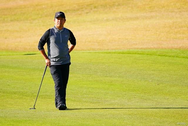 2017年 カシオワールドオープンゴルフトーナメント 初日 時松隆光 今季2勝目を狙う時松隆光は先輩プロに教わった技で好発進