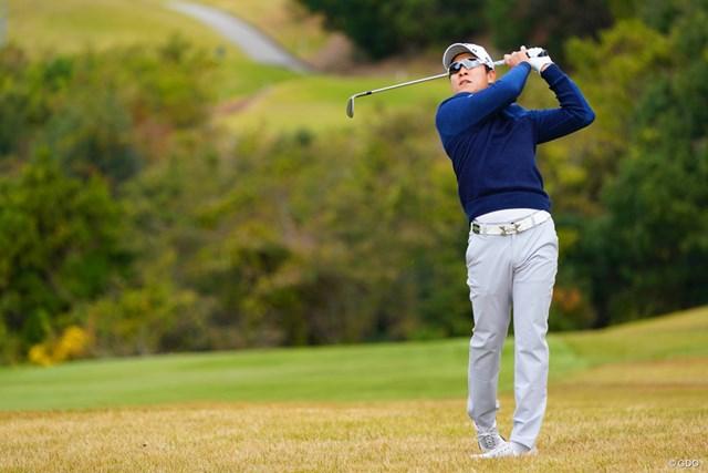 2017年 カシオワールドオープンゴルフトーナメント 2日目 キム・キョンテ 単独首位に浮上して決勝ラウンドに進んだキム・キョンテ