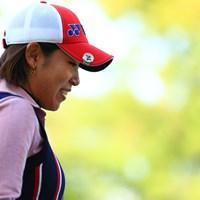子供達に見送られて笑顔で出発 2017年 LPGAツアー選手権リコーカップ 2日目 若林舞衣子