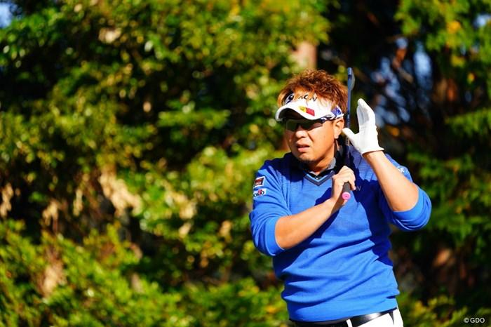 ポチャンって聞こえた? 2017年 カシオワールドオープンゴルフトーナメント 2日目 塚田陽亮