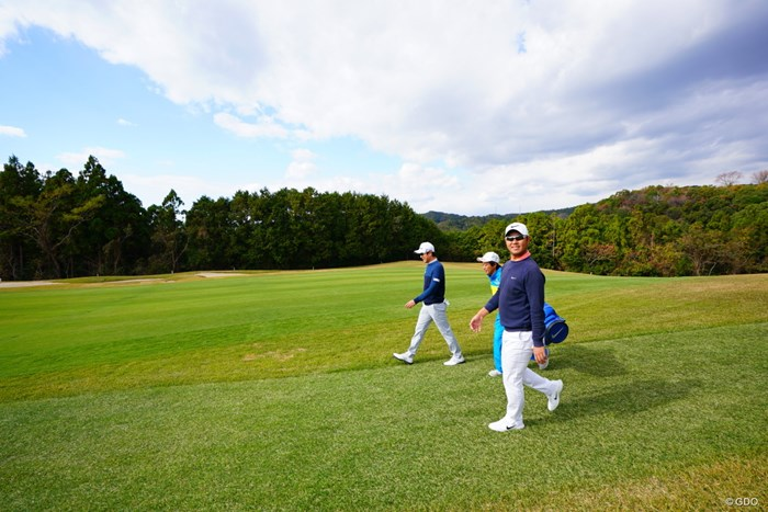 キョンテは気がついてくれないねーと言っていた。 2017年 カシオワールドオープンゴルフトーナメント 2日目 薗田峻輔