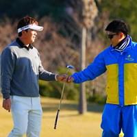 結構長ーいの決めてナイス。 2017年 カシオワールドオープンゴルフトーナメント 2日目 リュー・ヒョヌ