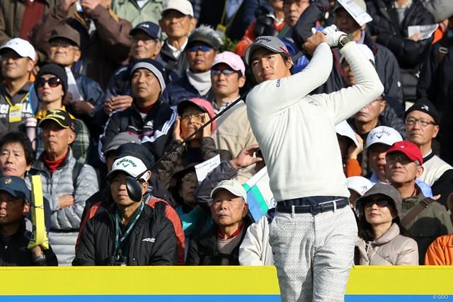 2017年 カシオワールドオープンゴルフトーナメント 3日目 石川遼 首位と3打差に迫って後半へ折り返した石川遼