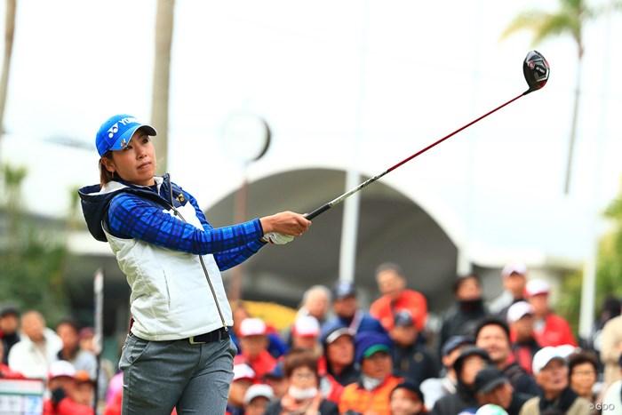 28位で最終日へ 2017年 LPGAツアー選手権リコーカップ 3日目 若林舞衣子