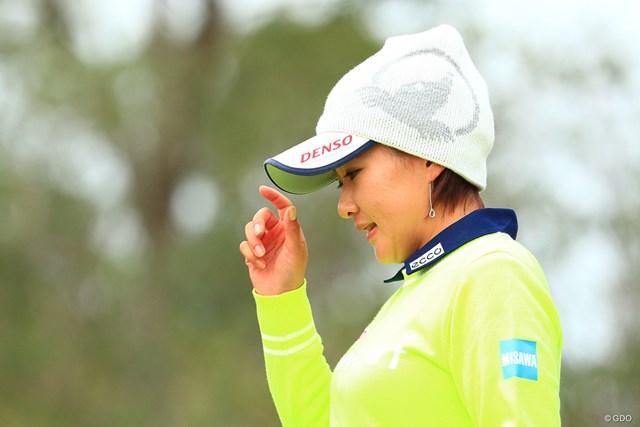 2017年 LPGAツアー選手権リコーカップ 3日目 永井花奈 2番バーディー