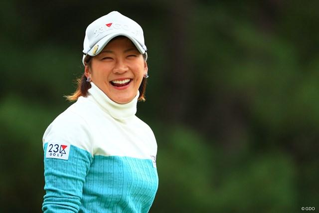 2017年 LPGAツアー選手権リコーカップ 3日目 成田美寿々 2日目から急上昇の選手トップとは6打差
