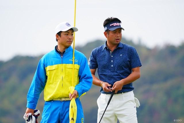 2017年 カシオワールドオープンゴルフトーナメント 3日目 井上貴弘さん&池田勇太 池田勇太は3日目に38位から13位に順位を上げた