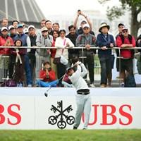 3日間首位を守り、欧州ツアー5勝目へ前進したSSPチャウラシア 2018年 UBS香港オープン 3日目 SSPチャウラシア