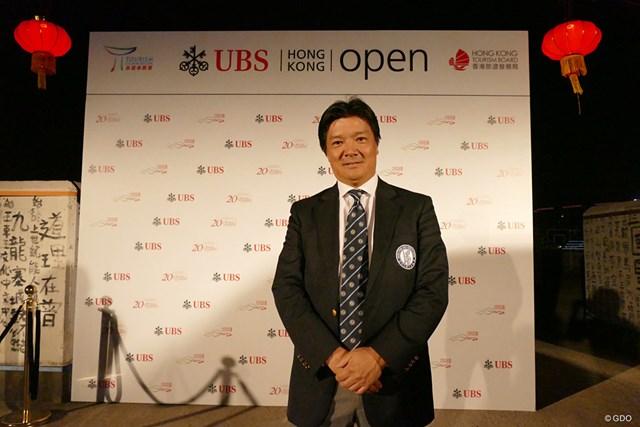 香港ゴルフ協会の西剛弘会長。日本のJGAの委員でもある
