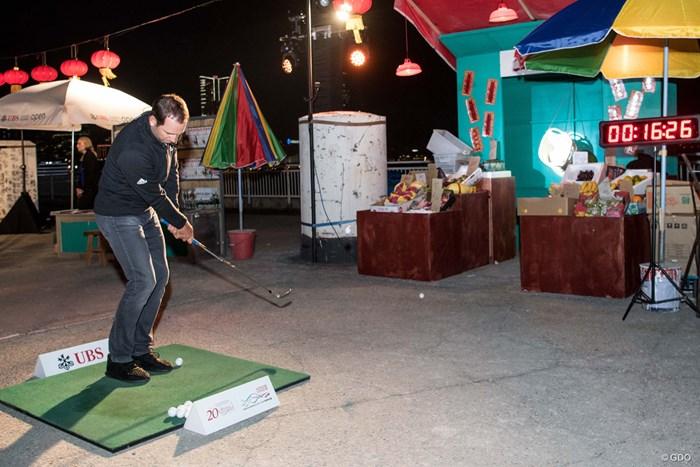 アーバンゴルフチャレンジに参加するセルヒオ・ガルシア(Takumi Images)  2018年 UBS香港オープン セルヒオ・ガルシア