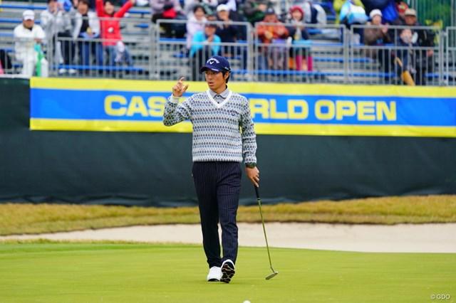 2017年 カシオワールドオープンゴルフトーナメント 最終日 石川遼 今季最終戦で2位フィニッシュ。週末の猛チャージで石川遼は結果的に惜敗した