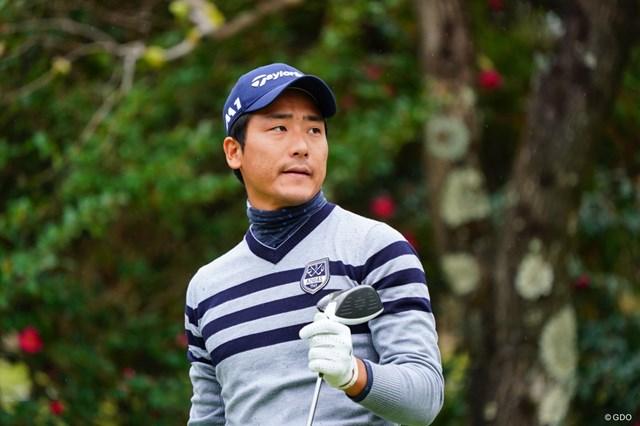 昨年末に予選会を突破して参戦した竹安俊也。第1シードを獲得した