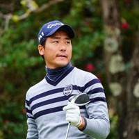 昨年末に予選会を突破して参戦した竹安俊也。第1シードを獲得した 2017年 カシオワールドオープンゴルフトーナメント 最終日 竹安俊也
