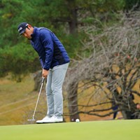昨日のプロアマを腰痛でプレーできなかったチャン。 2017年 ゴルフ日本シリーズJTカップ 初日 チャン・キム