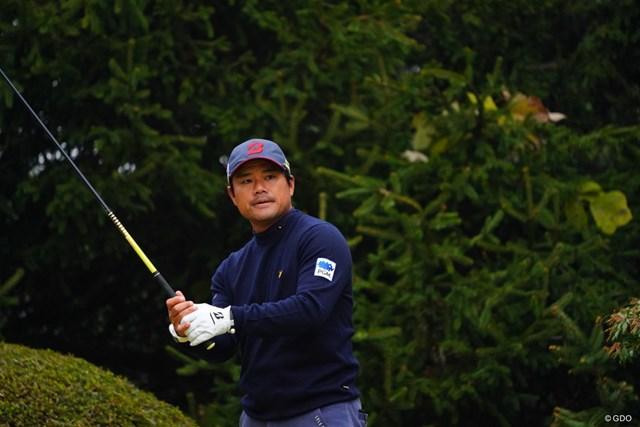 2017年 ゴルフ日本シリーズJTカップ 初日 宮里優作 ちょっと猪木入ってる瞬間。