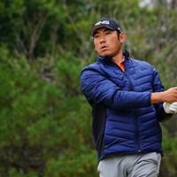 腰痛により無念の棄権を強いられたチャン・キム ※撮影は初日 2017年 ゴルフ日本シリーズJTカップ 2日目 チャン・キム