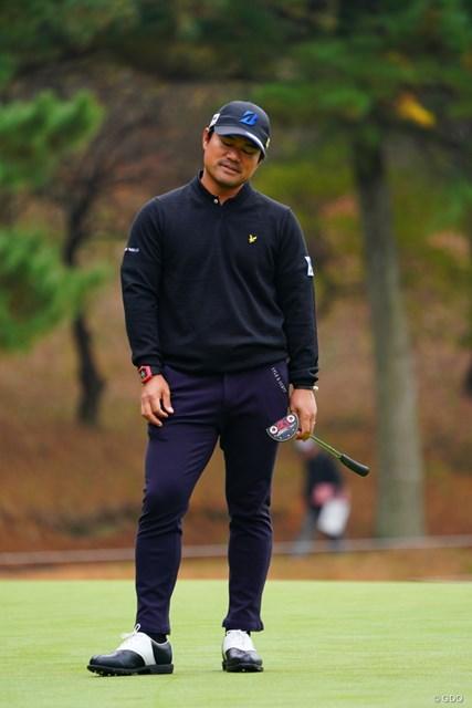 2017年 ゴルフ日本シリーズJTカップ 2日目 宮里優作 上がりの4パットが痛恨。それでもまだ逆転の目はおおいにある
