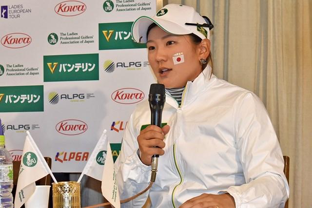 キャプテンの成田美寿々は黒星。2日目の巻き返しと誓った ※大会提供