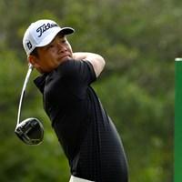 単独首位に浮上した地元中国のシャオ・ボーウェン ※画像提供:アジアンツアー 2017年 kg s&h city アジアンゴルフチャンピオンシップ 2日目 シャオ・ボーウェン