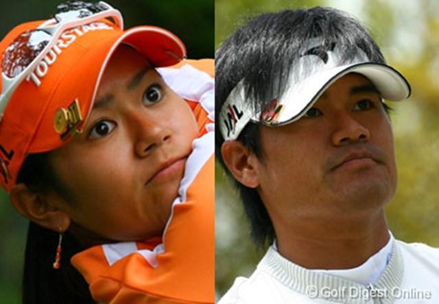 2006年 日本女子プロゴルフ選手権 3日目 宮里藍 宮里優作 史上初の兄妹同時優勝なるか!?宮里藍&優作に注目だ