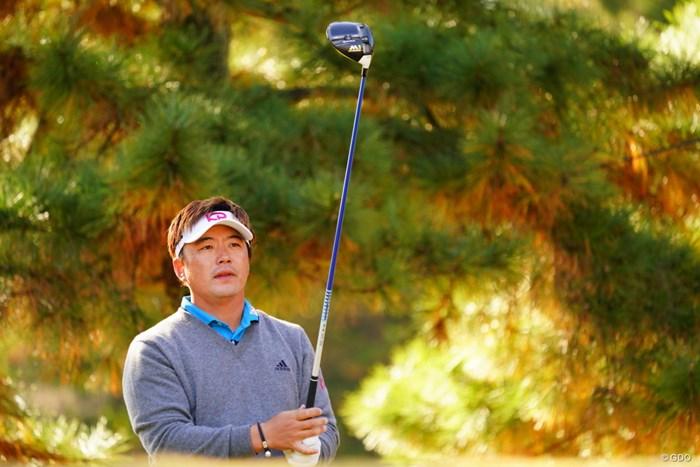 ダークホースかも。って勝手に好きなだけかな。 2017年 ゴルフ日本シリーズJTカップ 3日目 リュー・ヒョヌ