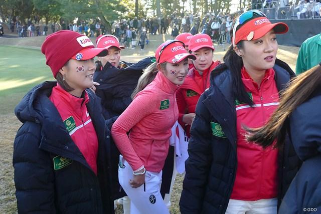 米LPGAを主戦場とする韓国選手を破った韓国チーム。勢いを維持して日本に乗り込んだ