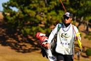 2017年 ゴルフ日本シリーズJTカップ 最終日 片山のキャディ