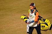 2017年 ゴルフ日本シリーズJTカップ 最終日 片岡のキャディ