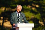 2017年 ゴルフ日本シリーズJTカップ 最終日 青木功