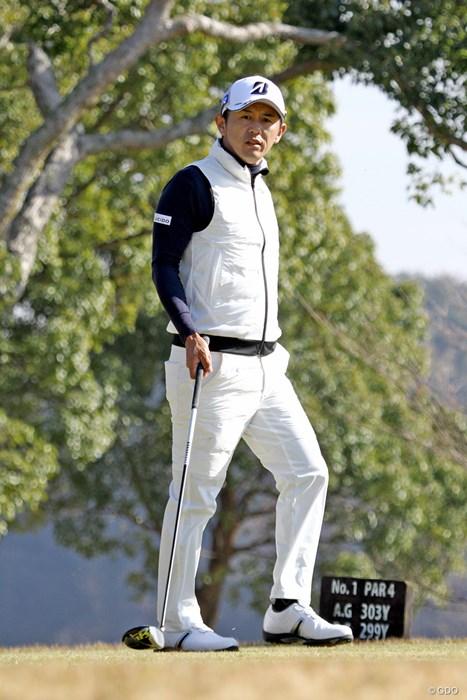 来季は生涯獲得賞金の資格で出場する意向の近藤共弘 2017年 国内男子QT 最終日 近藤共弘