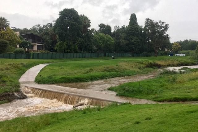 """開幕前の大雨で、""""水没""""してしまった橋も…"""
