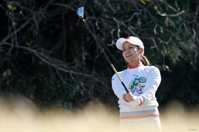 2017年 宮里藍 契約するブリヂストンゴルフのファンイベントに参加した宮里藍