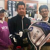 都内ゴルフショップで「ゼクシオ テン」をPRした横峯さくら 2017年 横峯さくら