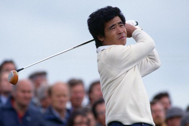1985年の全英オープンに出場した中村通(Bob Thomas/Getty Images)
