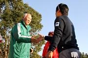 2017年 Hitachi 3Tours Championship 最終日 青木功&宮里優作