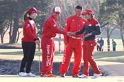 2017年 Hitachi 3Tours Championship 最終日 上田桃子&成田美寿々