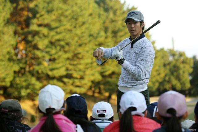 ゴルフを始めたジュニアたちへ 石川遼が訴えたのは基本的なことばかり