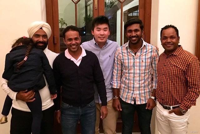 2017年 マクラウド・ラッセル ツアー選手権 川村昌弘 2017年の最後はインドに来ました。アジアの仲間たちと!