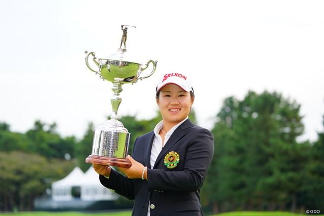 畑岡奈紗はやはり強かった。ナショナルオープン連覇を達成!