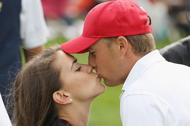 婚約の噂が流れるスピース。真相はいかに(Scott HalleranGetty Images)