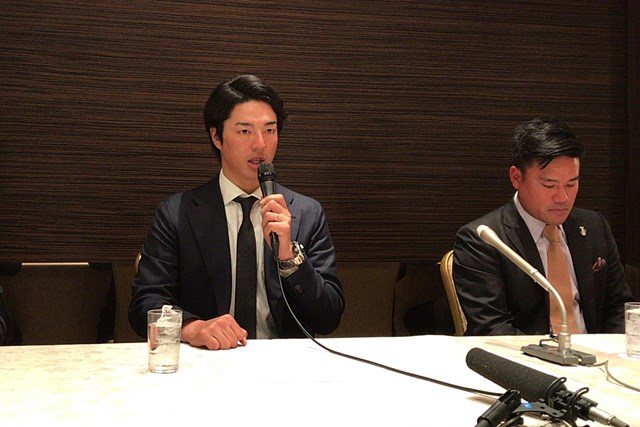 選手会長に就任した石川遼。宮里優作から重責を引き継いだ