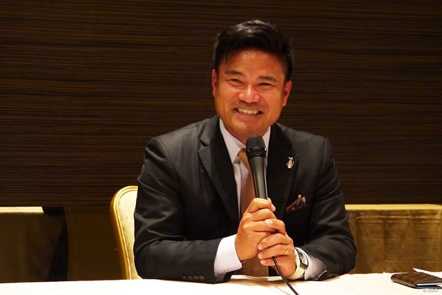 都内で行われた選手会理事会の後、宮里優作はマスターズ出場の喜びを語った