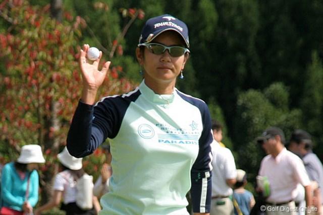 2006年 ミヤギテレビ杯ダンロップ女子オープンゴルフトーナメント 2日目 宮里藍 3年前と同じ2位で最終日を迎える宮里藍。逆転優勝となるのか!?